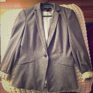 Gray H&M blazer